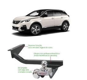 Engate De Reboque Peugeot 3008 Ano 2012 - 2017 Enforth
