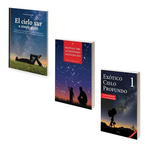 Promo 3 Libros De Astronomía Hemisferio Sur Mapas Manual