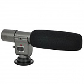 138028 Professional Stereo Microphone For Dv - Sob Encomenda