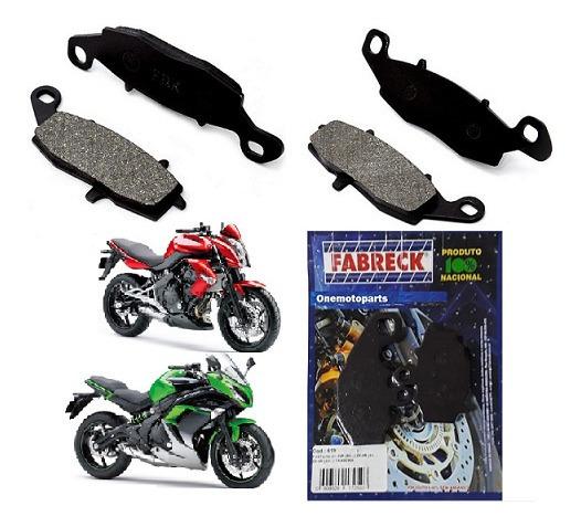 Kit Pastilha Dian E Tras Er6-n/ Ninja 650r (09/...)