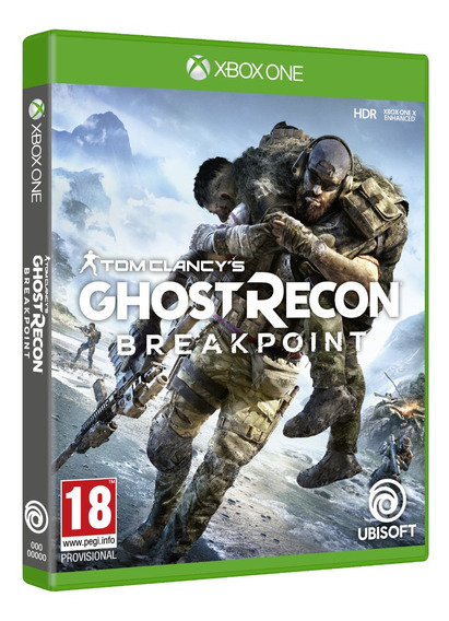 Tom Clancys Ghost Recon Breakpoint Xbox One Midia Fisica Br