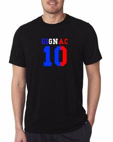 Camiseta Estampada 10 Gignac Tigres
