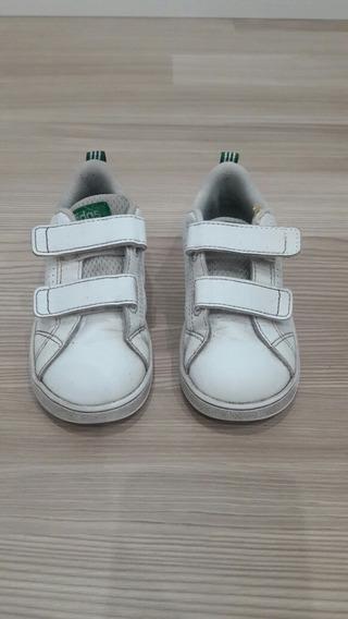 Zapatillas Blancas adidas De Niño Talle 8 1/2