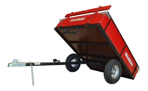 Carreta Reboque Basculante Para Quadriciclo 300kg - Moldemaq