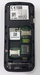 Celular Alcatel 1011d Placa Com Display E Carcaça