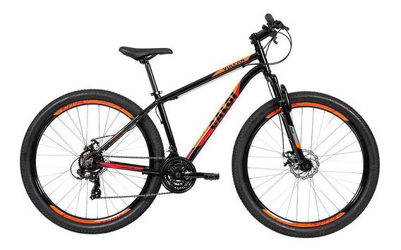 Biclicleta Mountain Bike Caloi Vulcan Aro 29 - Preta