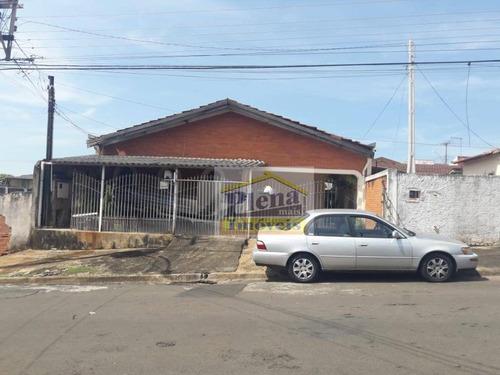 Casa Com 3 Dormitórios À Venda, 123 M²  - Parque João De Vasconcelos - Sumaré/sp - Ca4181