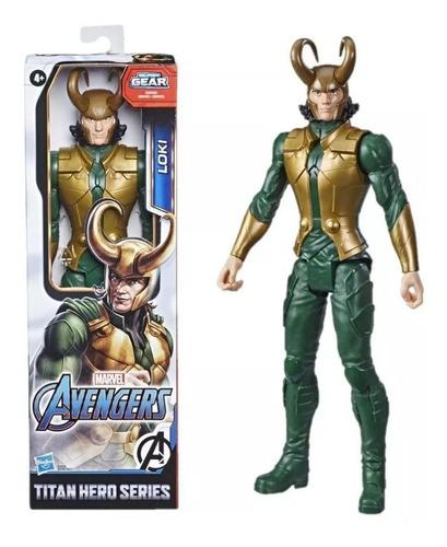Boneco Do Loki Titan Hero Blast Gear - Hasbro E7874