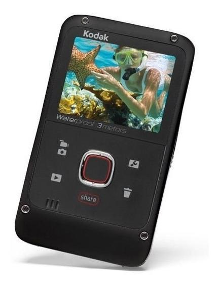 Câmera Kodak Ze2 2.0 Câmera Filmadora Hmi Apv/ag - Preto