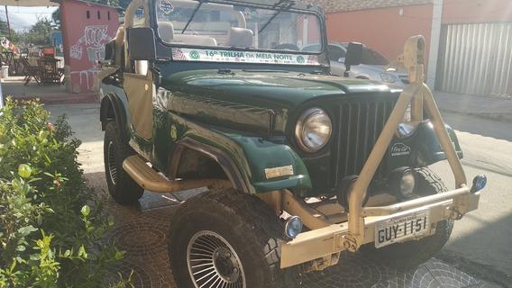 Vendo Jeep Cj5 Willys 1960 Gnv/gasolina