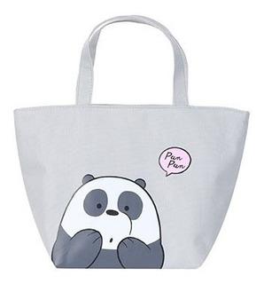 Bolsa Térmica Marmiteira Miniso Panda - Ursos Sem Curso