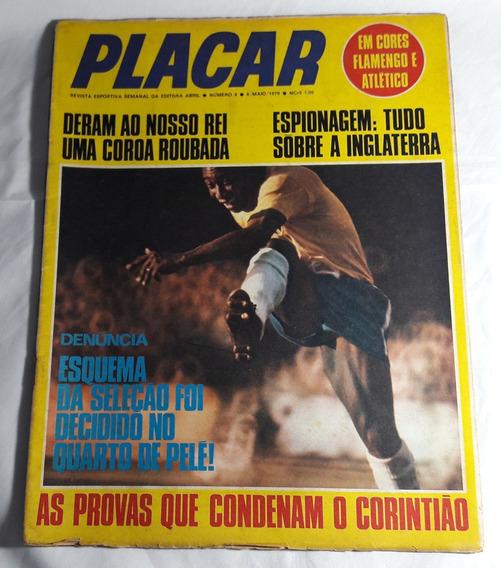 Placar Nº 8 1970 Capa Pelé + Pôster Flamengo