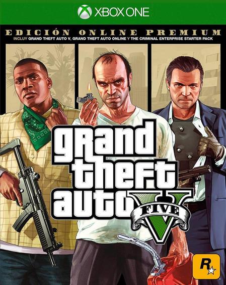 Grand Theft Auto V (gta 5) Premium Online Edition Xbox One