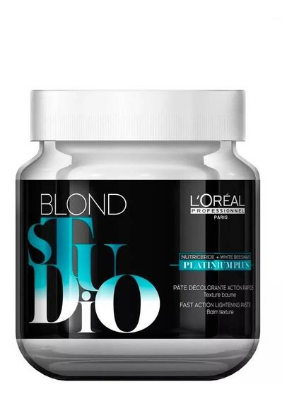 Pasta Decolorante Platinum Plus Blond Studio X 500ml Loreal