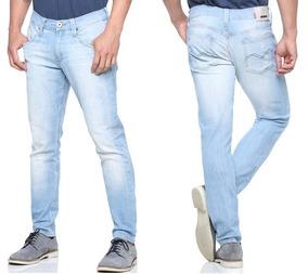4893a92ac Calça Sarja Preta Masculina Slim Fit C/ Lycra Skinny + Cores