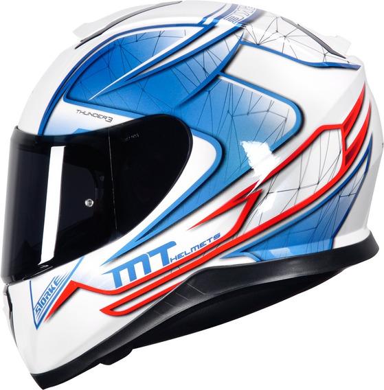 Capacete Moto Mt Helmets Thunder 3 Storke 4 Estrelas Sharp