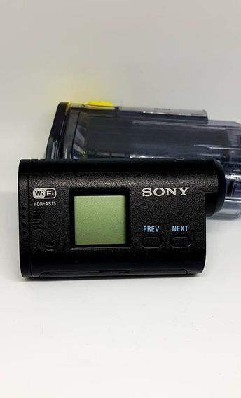 Filmadora De Ação Sony Hdr Full Hd Wifi Entrada Microf