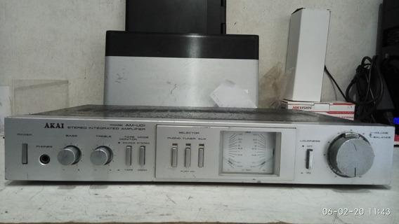 Amplificador Akai Am U01 Com Defeito
