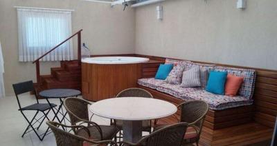 Cobertura Em Edificio Residencial Montis, Itu/sp De 152m² 3 Quartos À Venda Por R$ 850.000,00 - Co231379