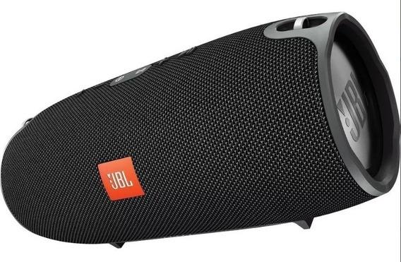Caixa De Som Portátil Jbl Xtreme 40w Conexão Bluetooth- Pen Drive- Cabo Auxiliar- Resistênte A Agua