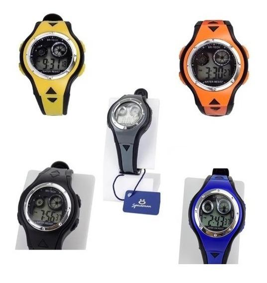 Kit 5 Relógios Masculinos Digitais À Prova D