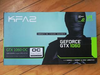Tarjeta Gráfica Kfa2 Geforce Gtx 1060 Oc