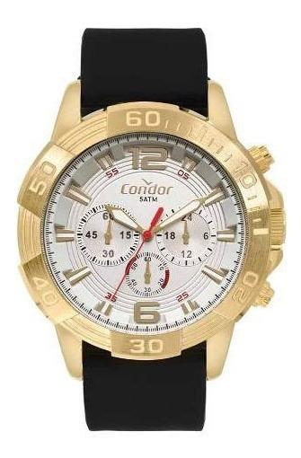 Relógio Condor Masculino Civic Dourado Covd54be/2k