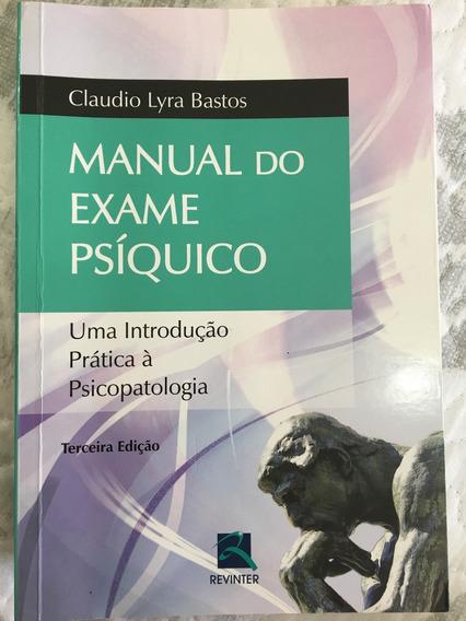 Livro Manual Do Exame Psíquico