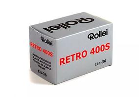 Filme Rollei Retro 400s Pb 35mm 36 Poses Venc 2022 - 2 Und