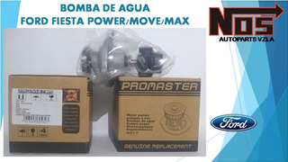 Bomba De Agua Ford Fiesta Power/move/max