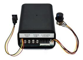 Controlador Pwm 60a 10v-55v Dc Motor C/ Inversor Digital