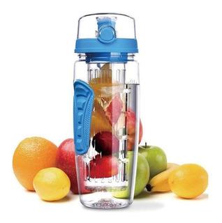 Infusor Botella Fitness Agua Fruta Niños Oficina Gym Yoga 1l