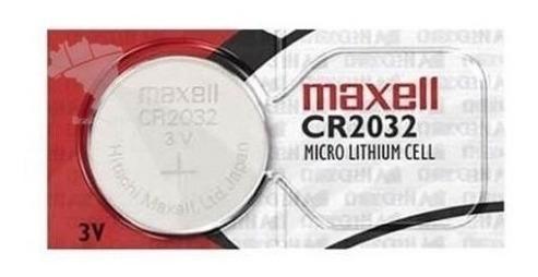 Bateria Cr2032 Maxell - Original - Para Sensores Garmin