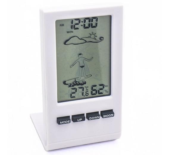 Relogio Previsao Chuva Termometro Higrometro Display Digital