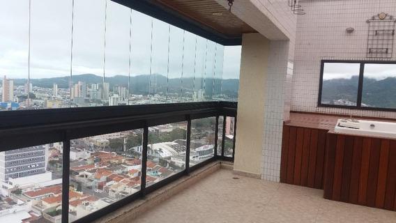 Cobertura Em Vila Oliveira, Mogi Das Cruzes/sp De 300m² 4 Quartos Para Locação R$ 6.100,00/mes - Co126323