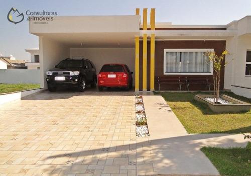 Casa Com 3 Dormitórios À Venda, 179 M² Por R$ 720.000,00 - Condomínio Campos Do Conde Ii - Paulínia/sp - Ca0385
