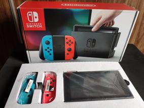 Nintendo Switch Novo Na Caixa 32gb