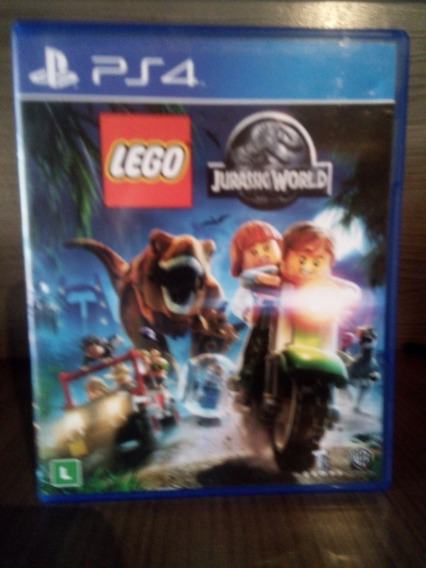 Jogo Lego Jurassic World - Playstation 4 - Ps4 Mídia Física