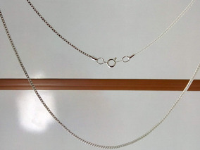 Cordão De Prata Veneziana