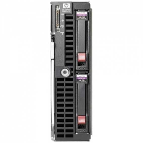 Hp Server Blade Bl460g7,2xslbz8 6-core E5649 2.53ghz, 16gb