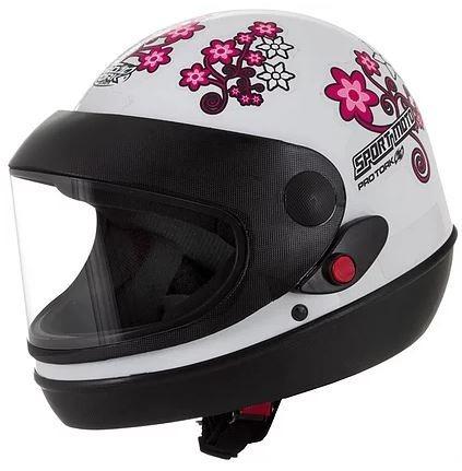 Capacete Feminino Pro Tork Sport Moto