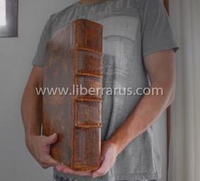 Biblia Antiga 1784 - Biblia Die Ganze Heilige Schrift