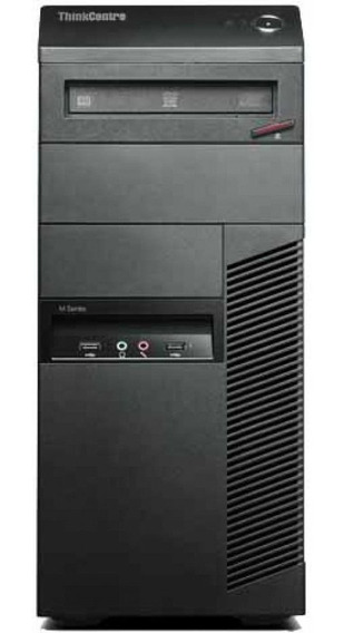 Cpu Lenovo Torre M81 Core I3 2100 8gb Hd 160gb Dvd Wifi