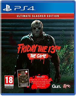 Ps4 Friday The 13th Game Ultimate Slasher