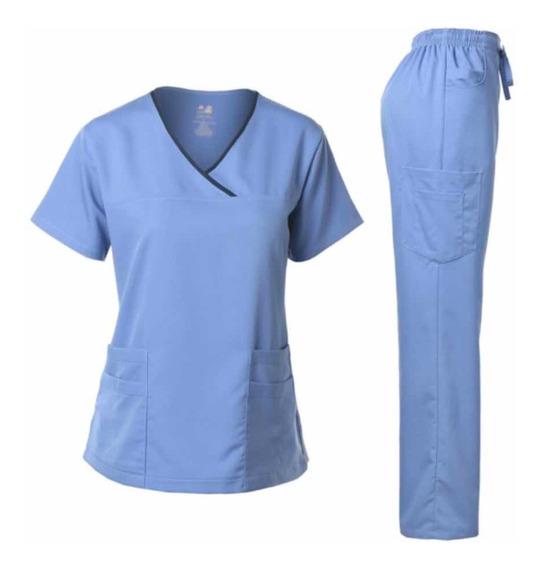 Pijama Quirúrgica Stretch Mujer Scrubs Uniforme Dagacci