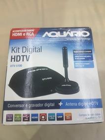 Kit Conversor Digital E Antena Interna Dtv-5100