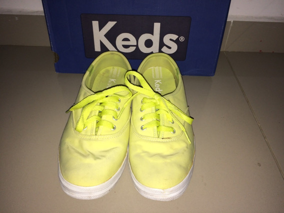 Tênis Keds Champion Woman Canvas Amarelo