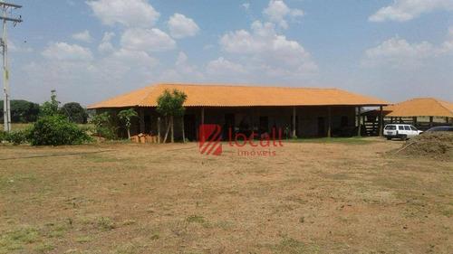 Imagem 1 de 16 de Chácara À Venda, 72600 M² Por R$ 800.000,00 - Zona Rural - Floreal/sp - Ch0036