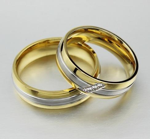 Anillo Elegante De Acero  - Compromisos , Matrimonio