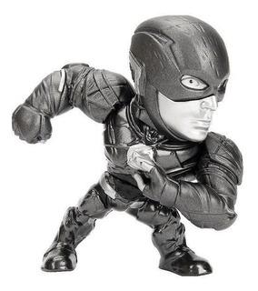 Figura Flash Gris Metal Die Cast Jada 10cm Jugueterialeon